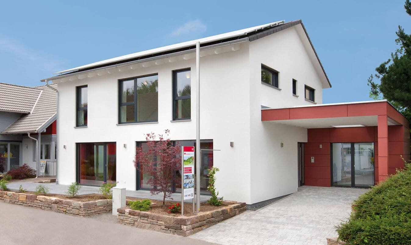 TALBAU-Haus Musterhaus Fellbach-Stuttgart in der Ausstellung Eigenheim & Garten