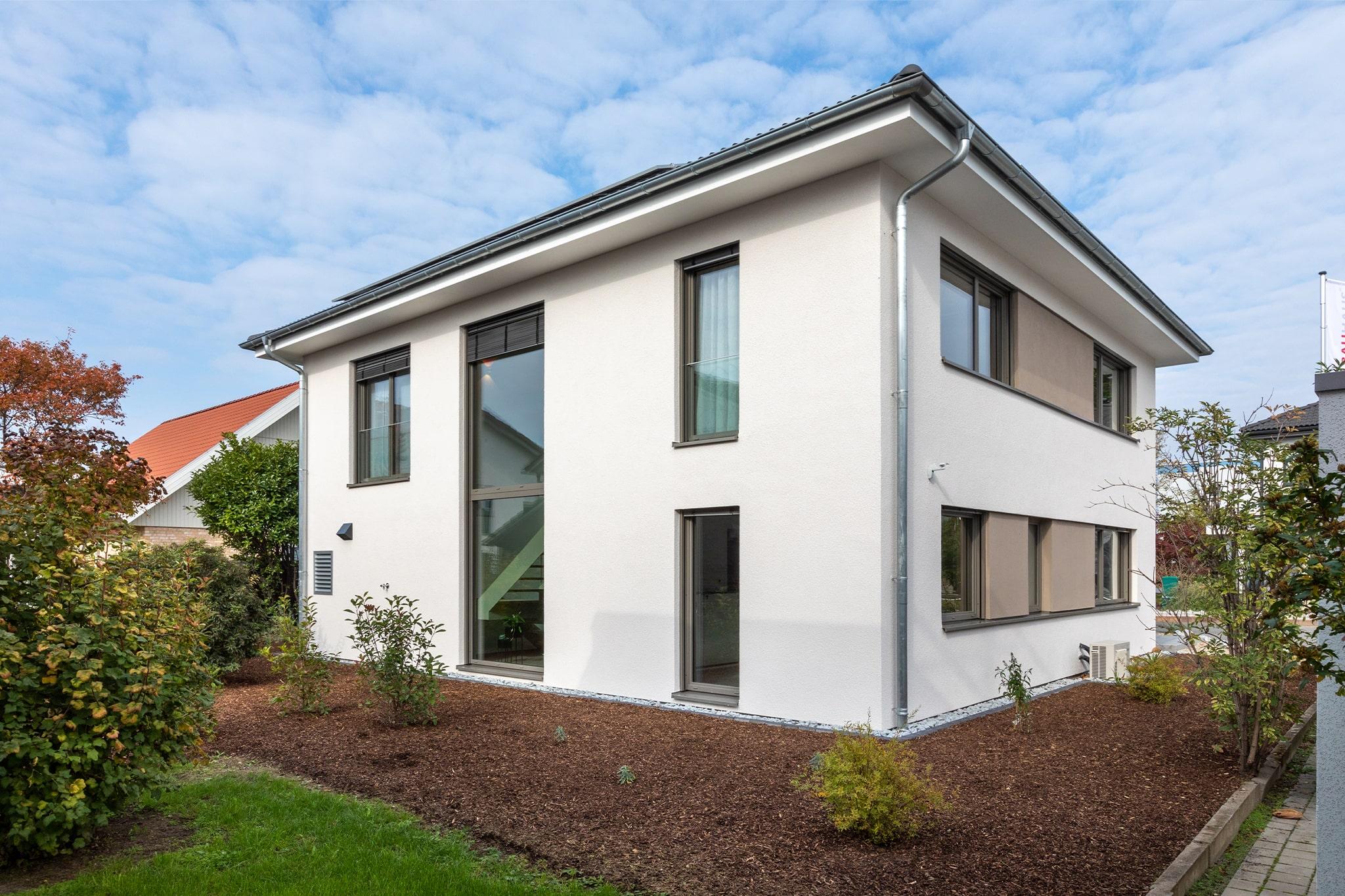 Musterhaus Mannheim Außenansicht