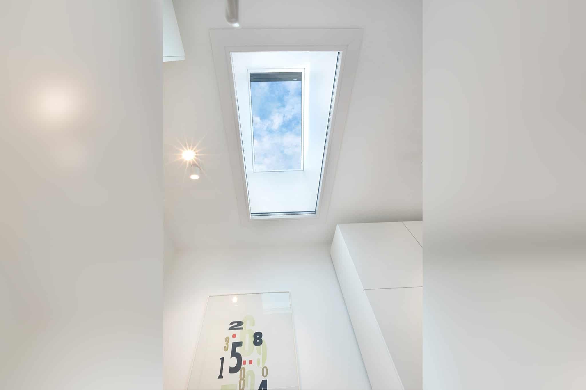Musterhaus Mannheim Ceiling Window
