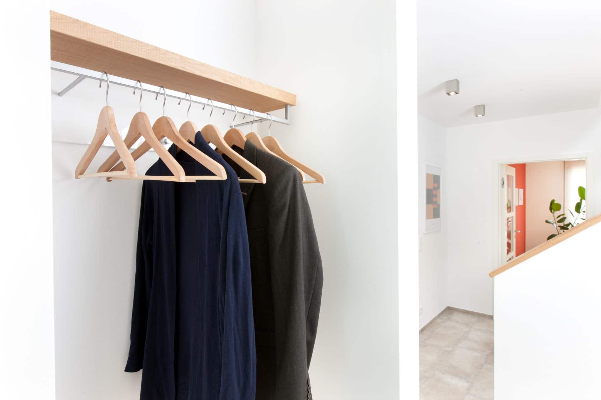 Garderobe im Erdgeschoss