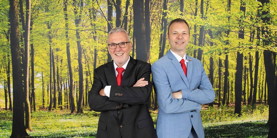 Geschäftsführung Jürgen und Sven Feil