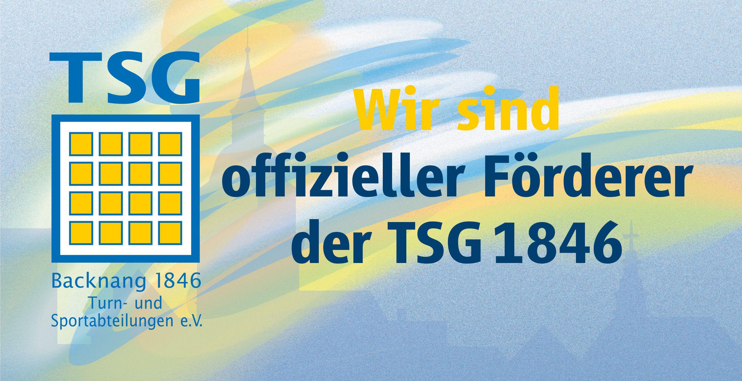 TSG Backnang - TALBAU-Haus ist offizieller Förderer