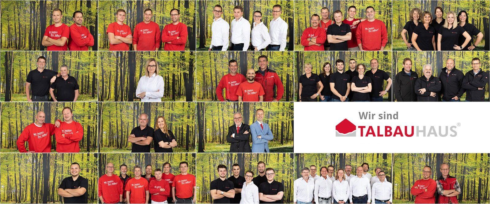 Die Teams der TALBAU-Haus GmbH