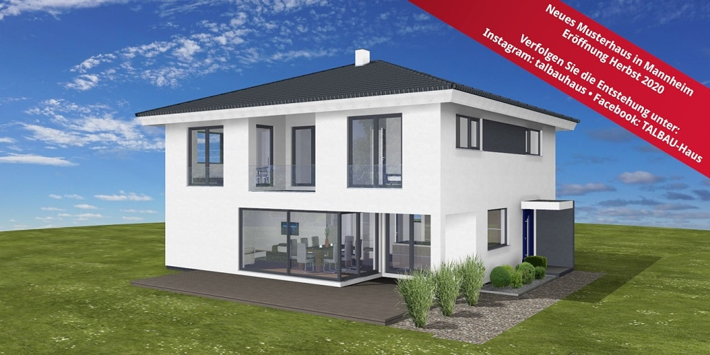 Entstehung neues Musterhaus in Mannheim