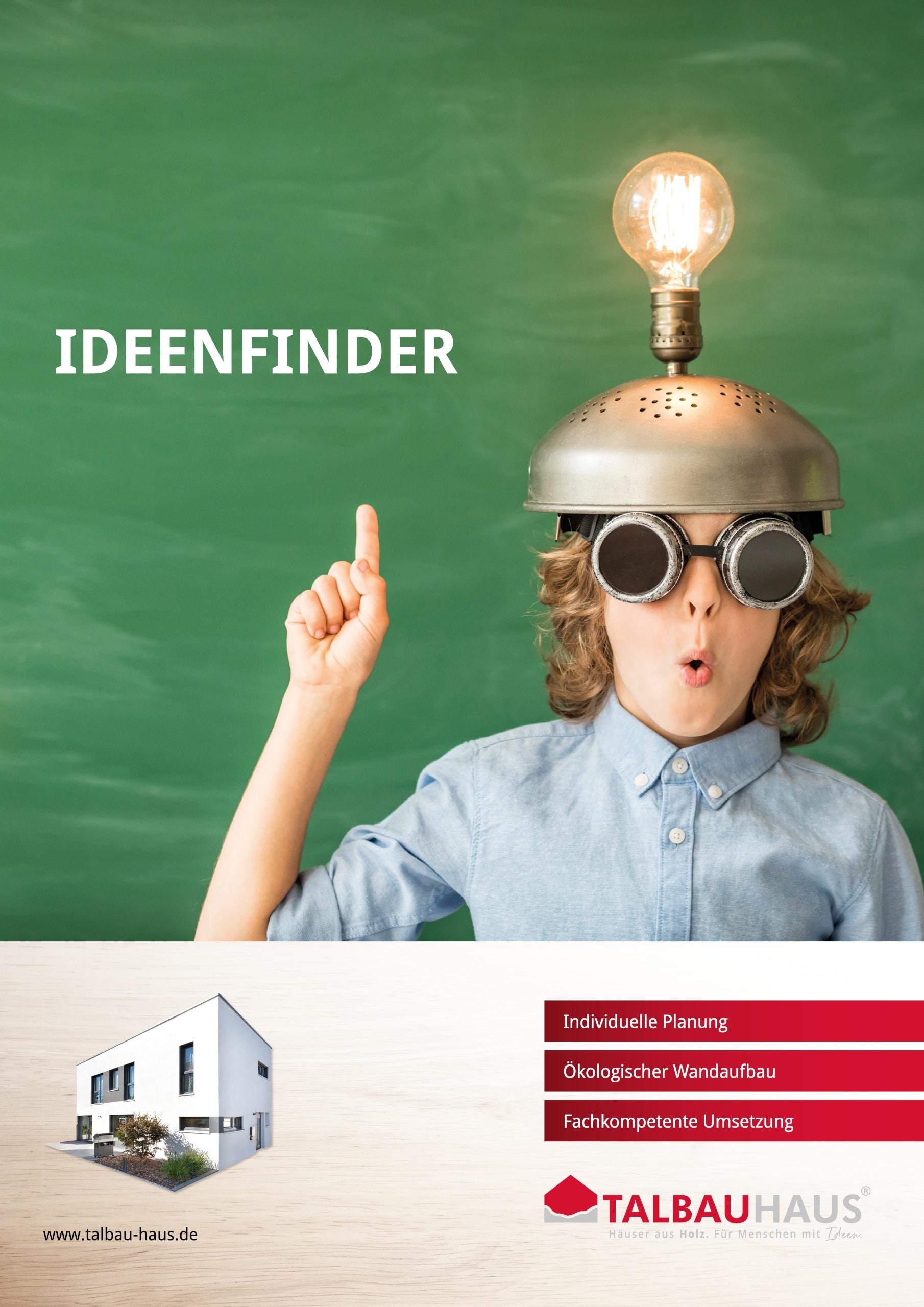 Ideenfinderdownload prospekt infomaterial TALBAU-Haus downloads