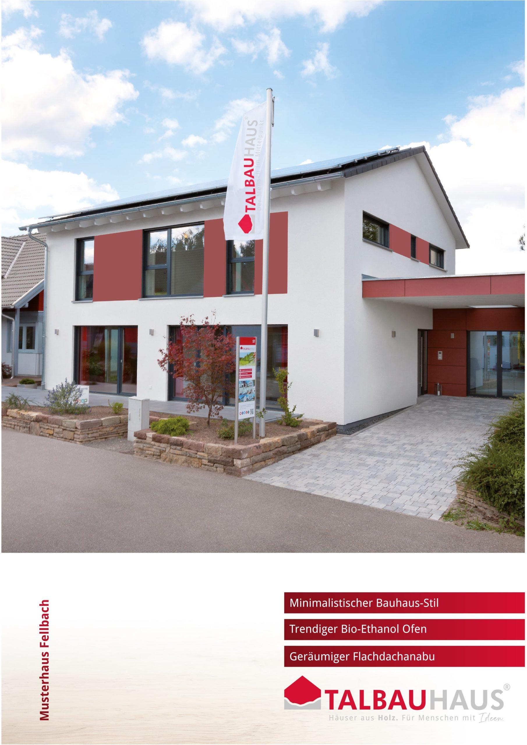 Musterhaus Fellbach download prospekt infomaterial TALBAU-Haus downloads