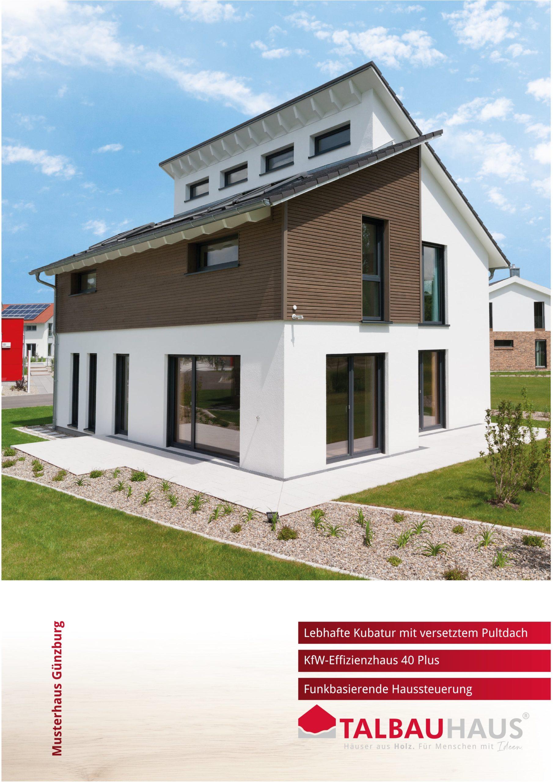 Musterhaus Günzburg download prospekt infomaterial TALBAU-Haus downloads