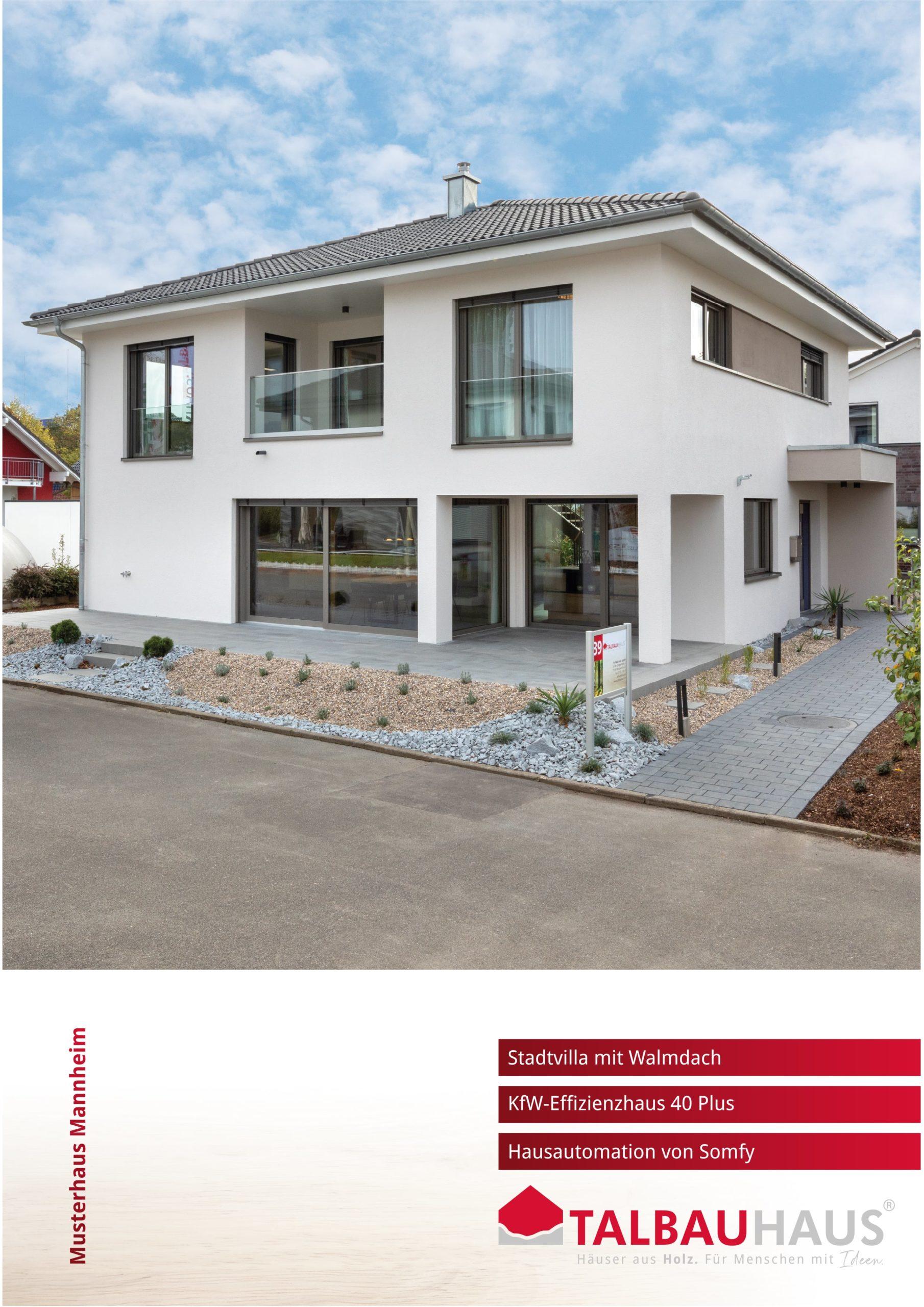 Musterhaus Mannheim download prospekt infomaterial TALBAU-Haus downloads