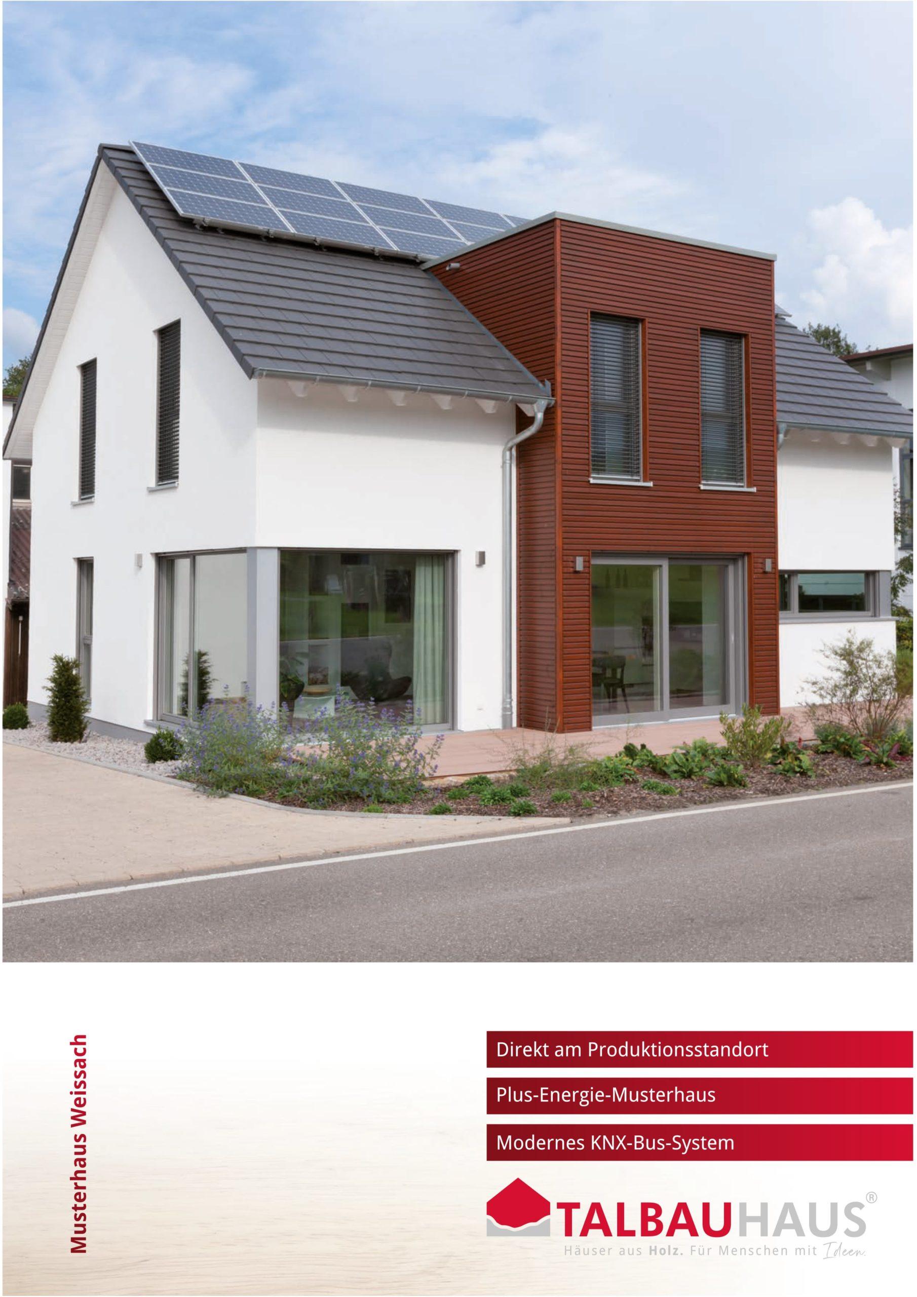 Musterhaus Weissach download prospekt infomaterial TALBAU-Haus downloads
