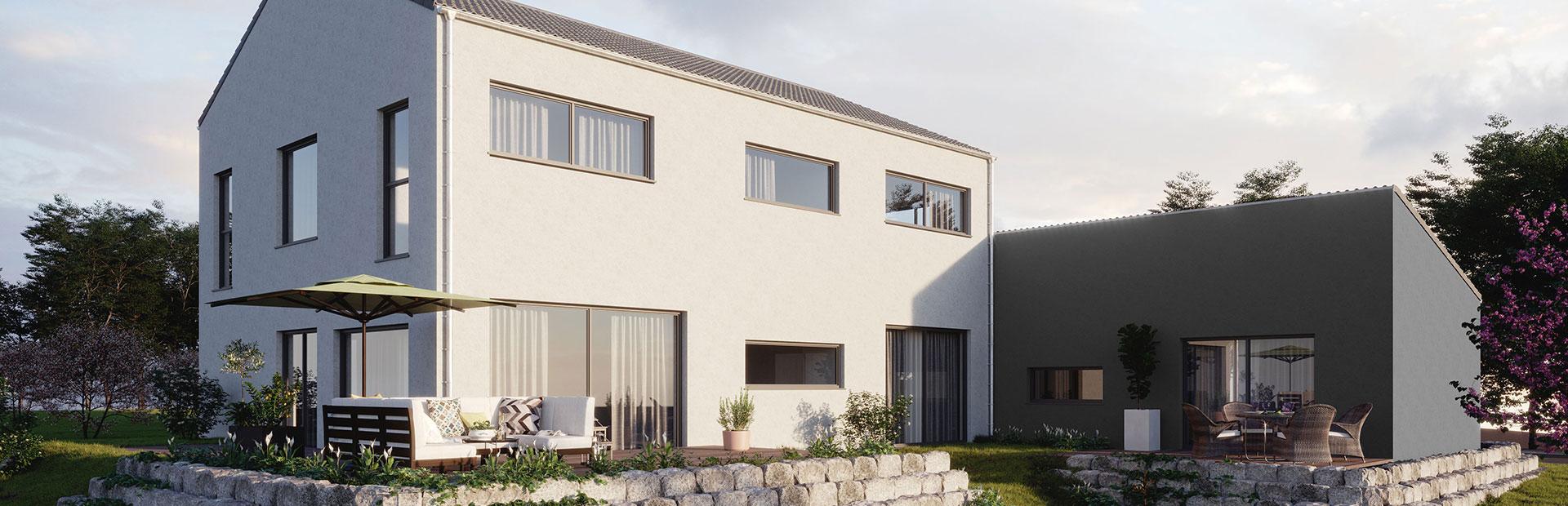 Beratung und bauen Zweifamilienhaus