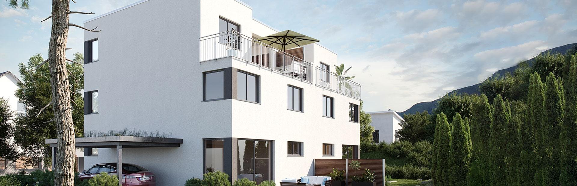 Doppelhaus auf Wunsch bauen lassen