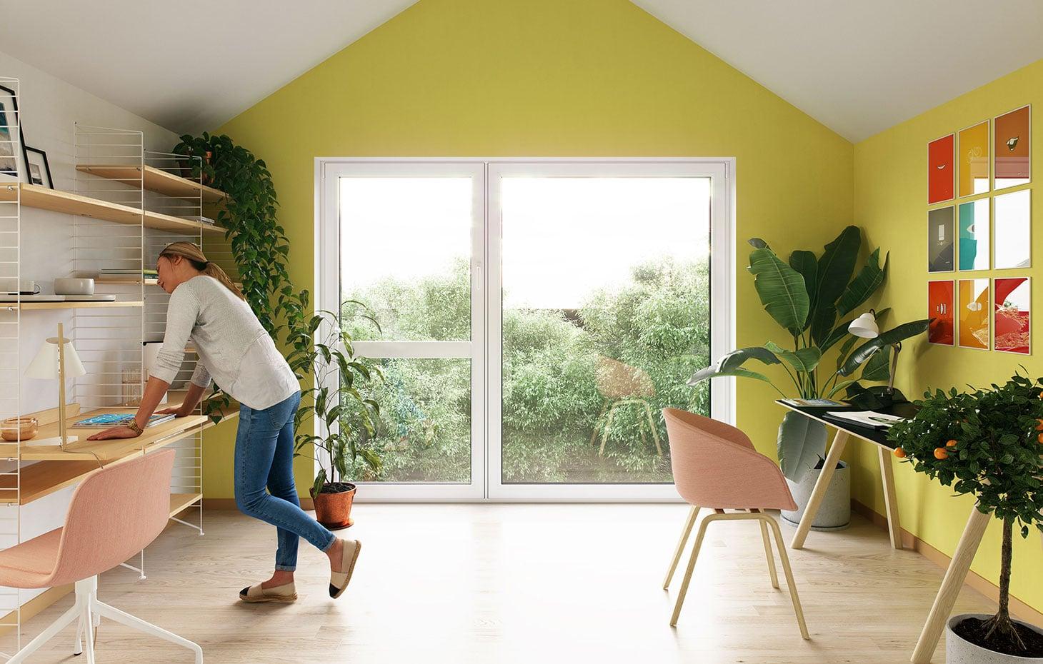 Einfamilienhaus in Holzverschalung und offenem Wohnraum bauen