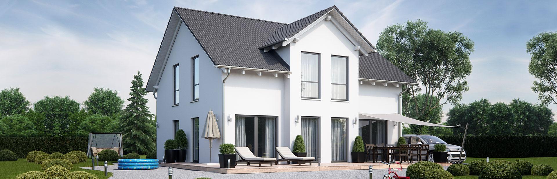 Einfamilienhaus mit Wohnkeller bauen