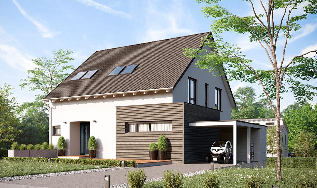 freistehendes Einfamilienhaus bauen lassen