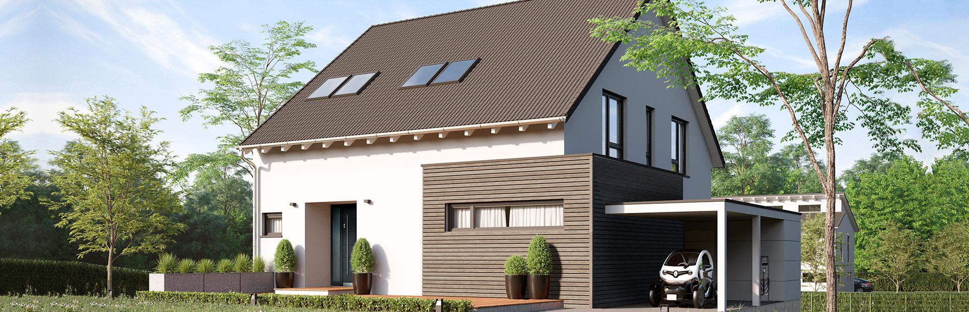 freistehendes Einfamilienhaus bauen