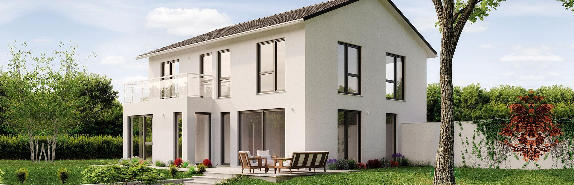 Teilunterkellertes Einfamilienhaus bauen