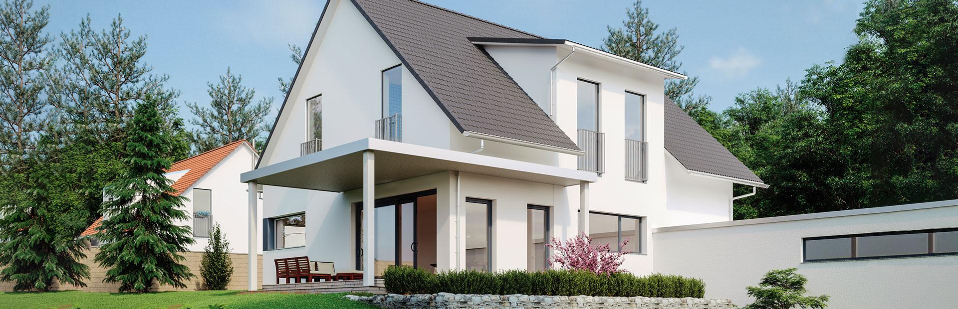 Vollunterkellertes Einfamilienhaus bauen