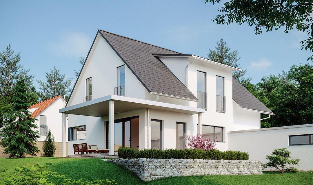 Wohnhaus mit 6 Zimmern bauen