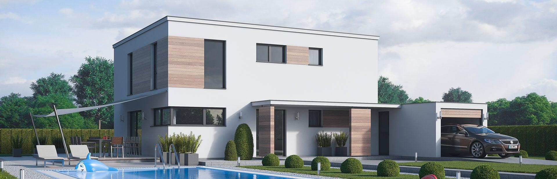 Bauhaus Fertighaus bauen