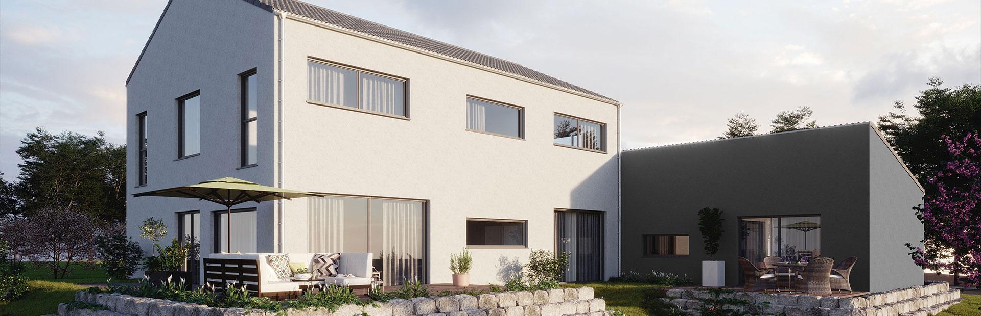 Zweifamilienhaus als Fertighaus bauen lassen